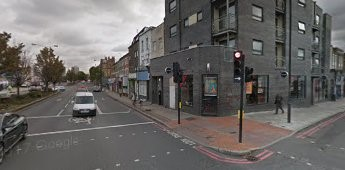 Old Kent Road This is where the Shard Arms Pub was,This is what  it looks like today 2017  X.jpg