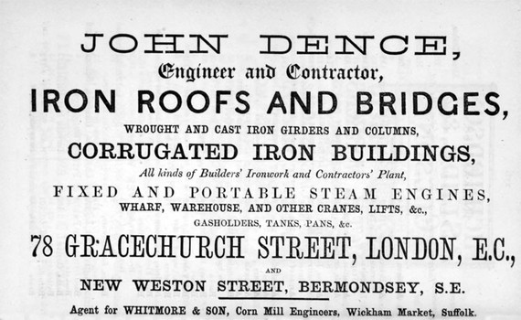 John Dence,New Weston St,Bermondsey.now Weston Street.jpg