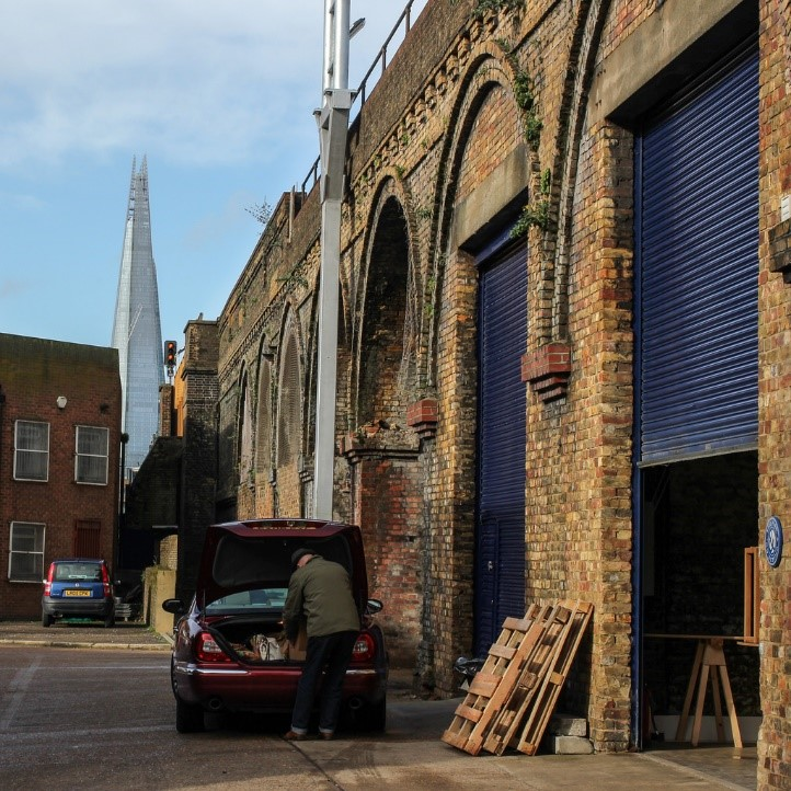 Shard from Kernel Brewery. Dockley Road Industrial Estate, Bermondsey.jpg