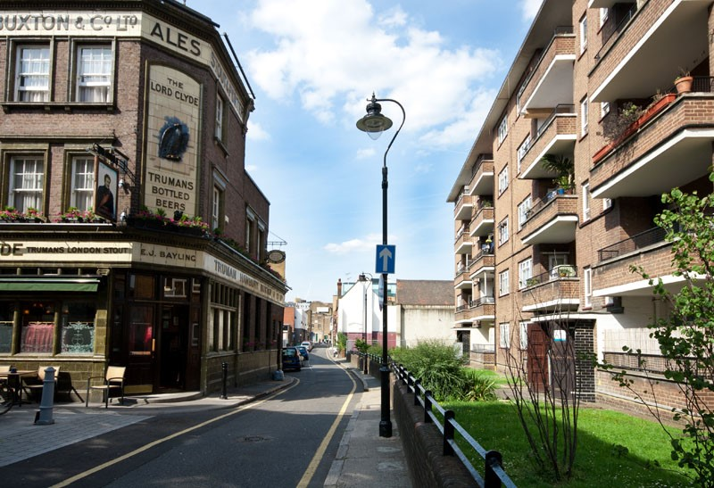 Ayres Street formerly Whitecross Street, Clennam Street (Left). 2016.  X.jpg