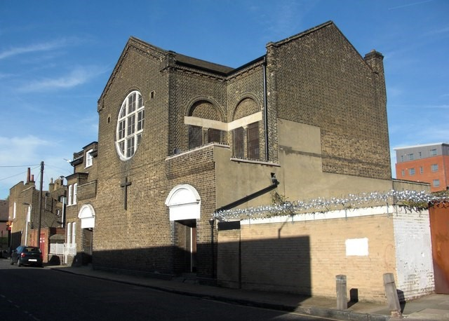 St Gertrudes Church. 1, Debnams Road, Rotherhithe. c 2010.  X.jpg