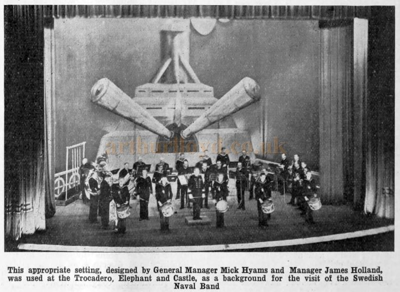 TROCADERO, SWEDISH BRASS BAND,1931..jpg
