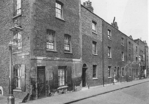In 1891, John Thomas Collier Lived at his parent's address, 45 Cherry Garden Street, Bermondsey..jpg