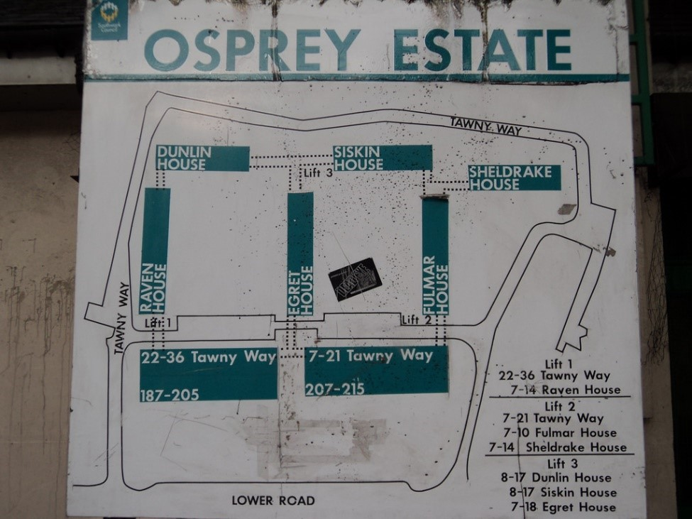 Lower Road,I think Tawny Way is now beside the Surrey Docks Pub, leading into the Osprey Estate.jpg