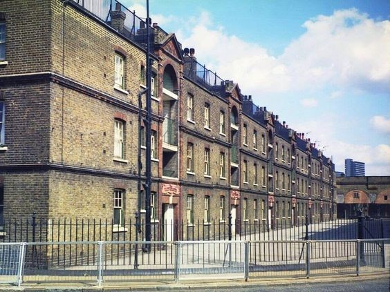 Trundleys Road, Folkestone Gardens Shortly before demolition in the 1970's.jpg