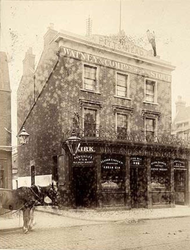 Grange Road,The Piits Head Pub c1880..jpg
