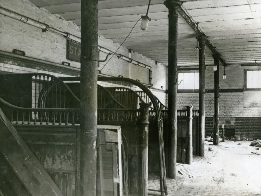 Neckinger,Stables at Bermondsey Council Depot, Neckinger..jpg