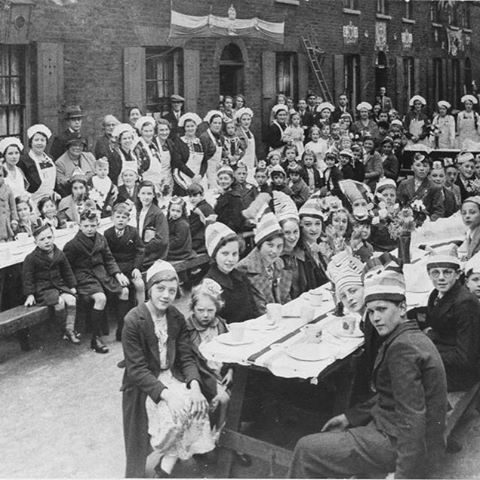 Roupell Street in 1937 for a Coronation Party.jpg