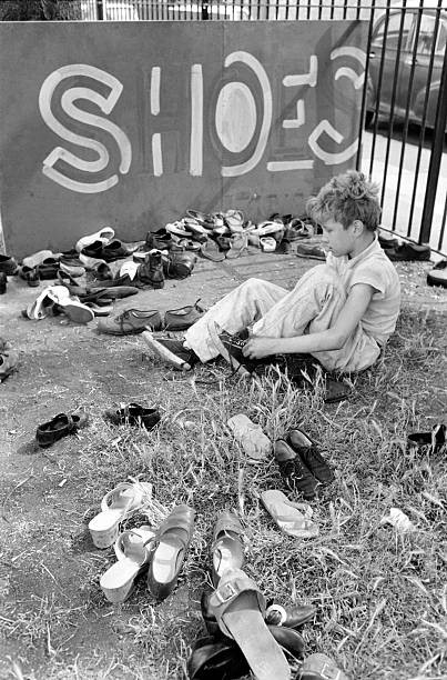 Tabard Gardens, Bermondsey,1970. Kids in the Park.jpg
