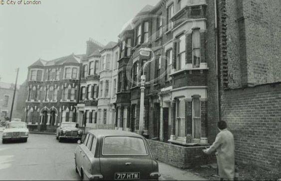 Odell Steet, ran between Albany Rd and Cobourg Rd, Old Kent Road end..jpg