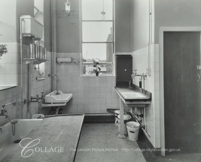 Lower Road, St Olave's Hospital, sanitary department c1937.  X.png