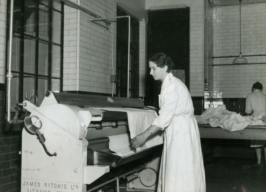Grange road. 1959 Rotary Ironing Machine, Bermondsey Central Baths. X.png