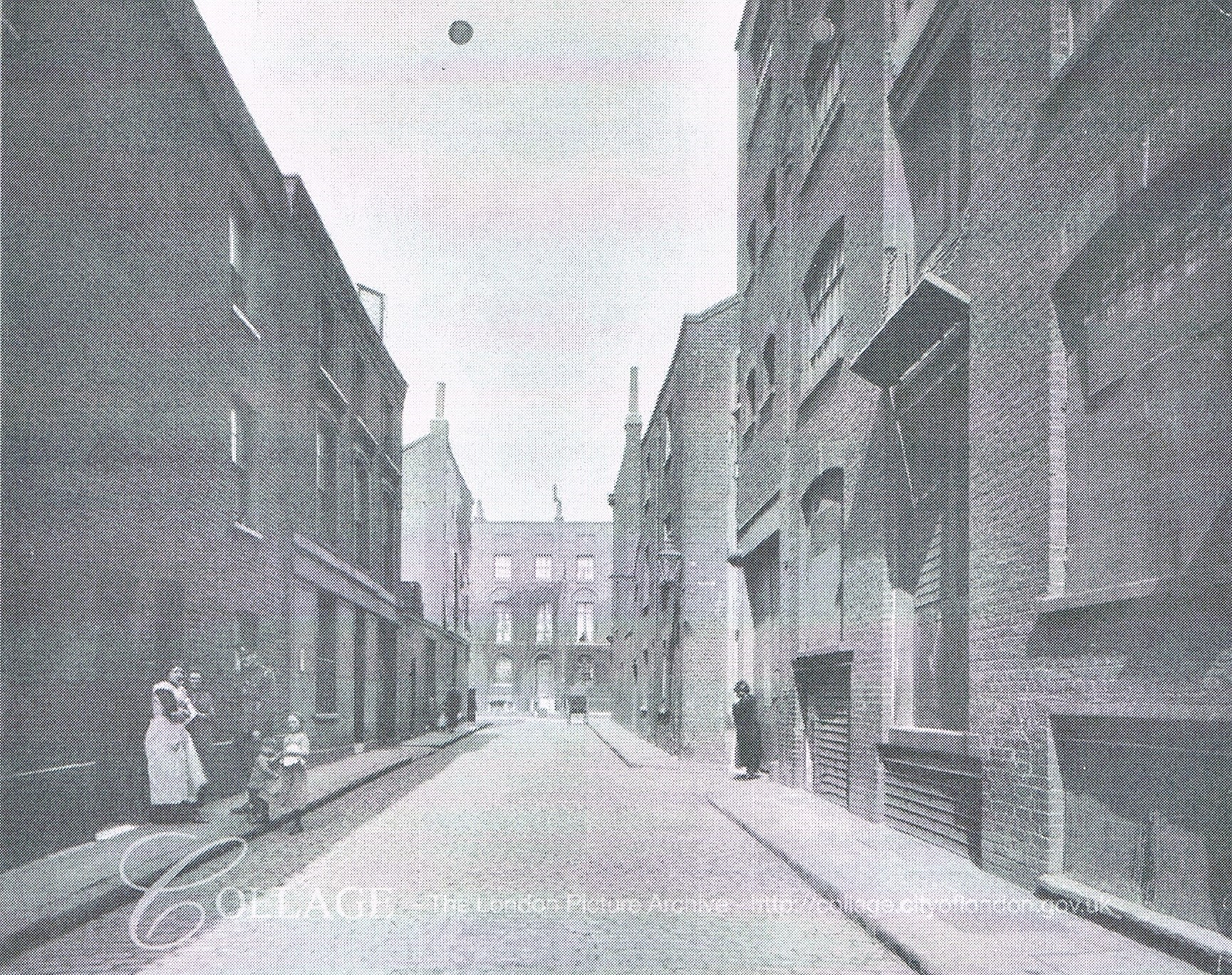 Staple Street,looking towards Long Lane c1915. X.jpg