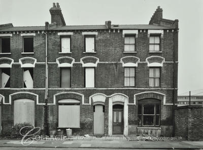 Faraday Street, No 80-84, c1971, off Portland Street, Albany road, no longer there.  X.png