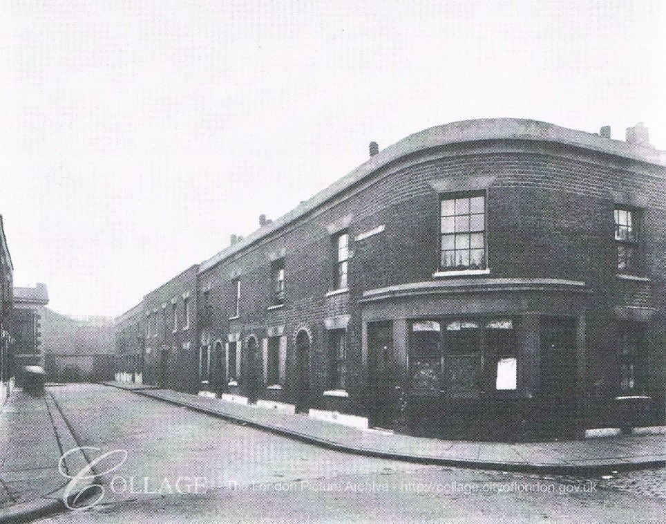Lansdowne Place 1913,no longer there, now Tabard Gardens.  X.jpg
