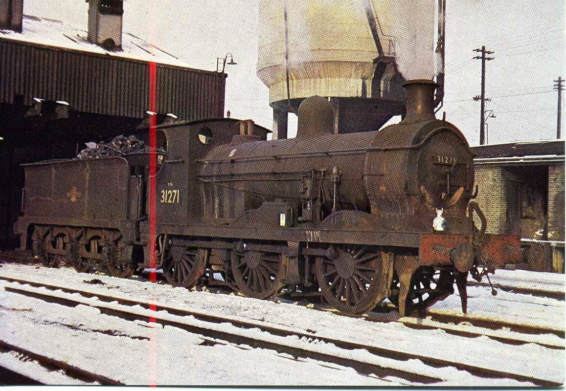 Bricklayers Arms 1962, Southern Region Locomotive 31271..jpg
