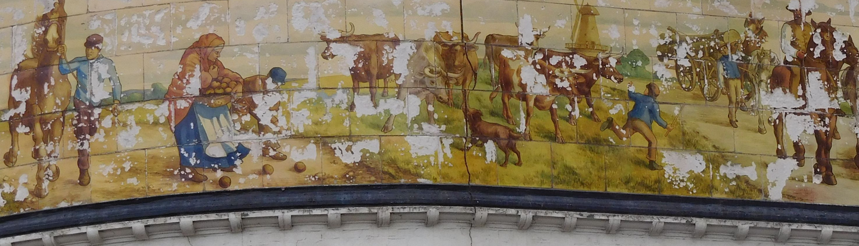 Old Kent Road, Kentish Drovers & Halfway House Pub Mural.  X (2).png