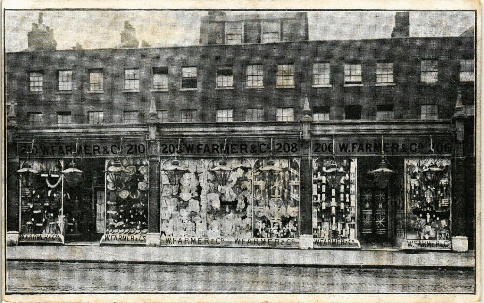 W.Farmer & Co. Shops. 210-206 Old Kent Road, near the Dun Cow.   X.png