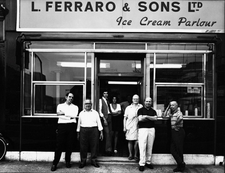 London Road, 1975 Ferraro & Sons.  X.jpg
