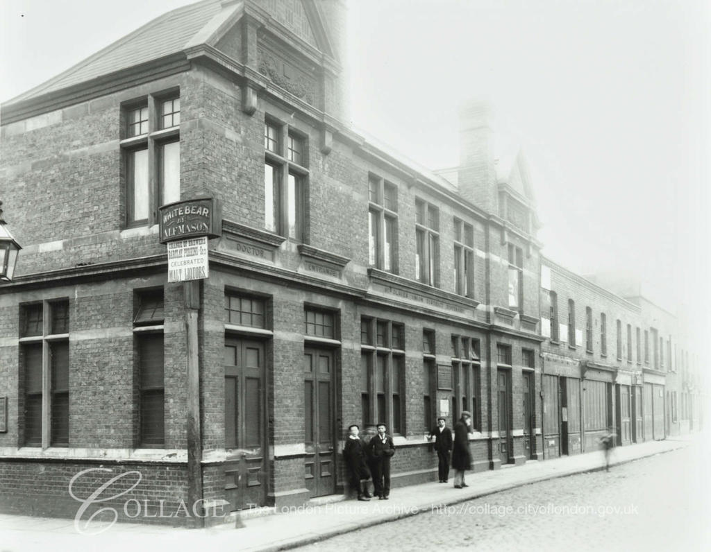 Abbey Street. St Olave's Union dispensary, c1900.  X.png
