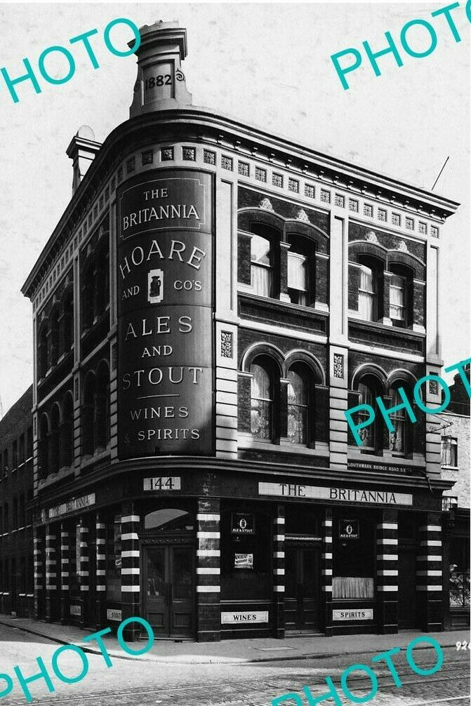 Southwark Bridge Road,The Britannia Pub, c1930,opposite Scovell Road.  X (2).png