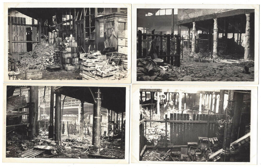 Borough Market, Southwark Aftermath of  Market Fire 1939, WW2.  1  X.png