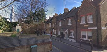 Copperfield Street 2019, Victorian terraced Winchester cottages built in 1895, these are all that are left.  X.png
