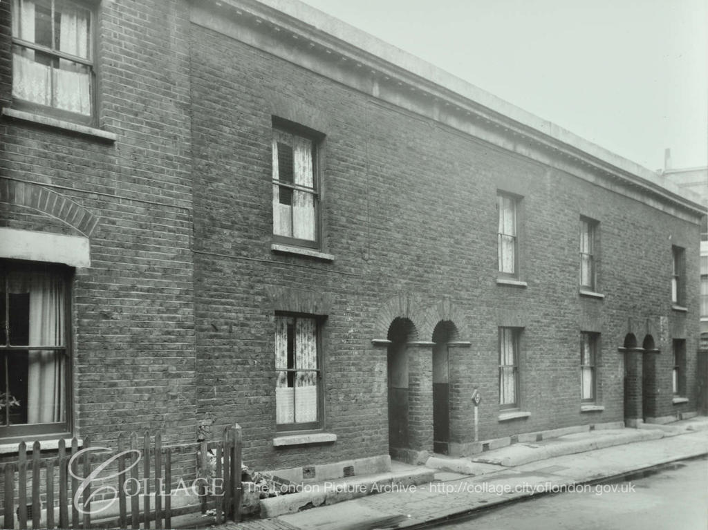 Diamond Street, No 2-8, off Southhampton Way. c1955.   X.png
