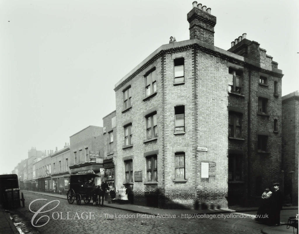 Tabard Street, by Little Hunter Street 1914.  X.png