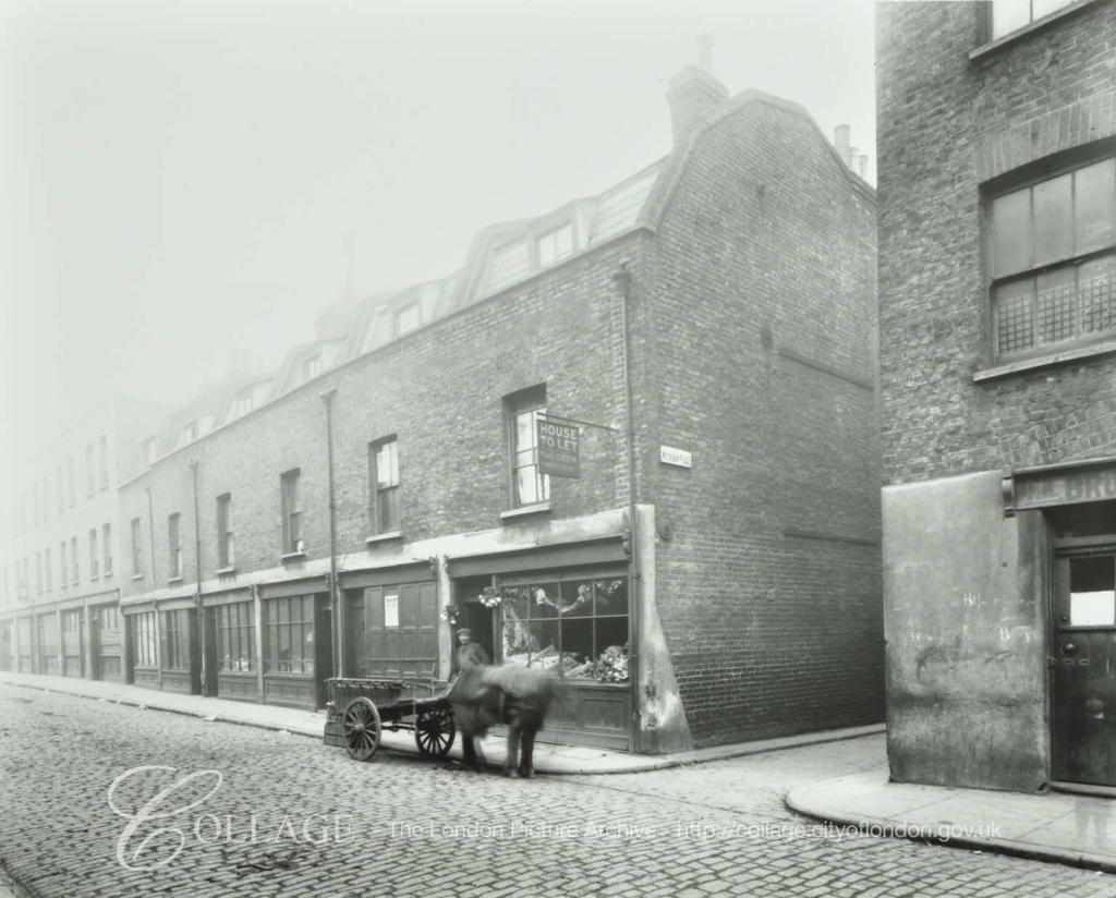 Tabard Street c1913,Wickham Place right.  X.png