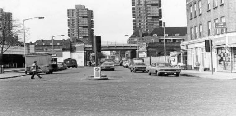 Wyndham Road, taken from Camberwell Road 1977.  X.png