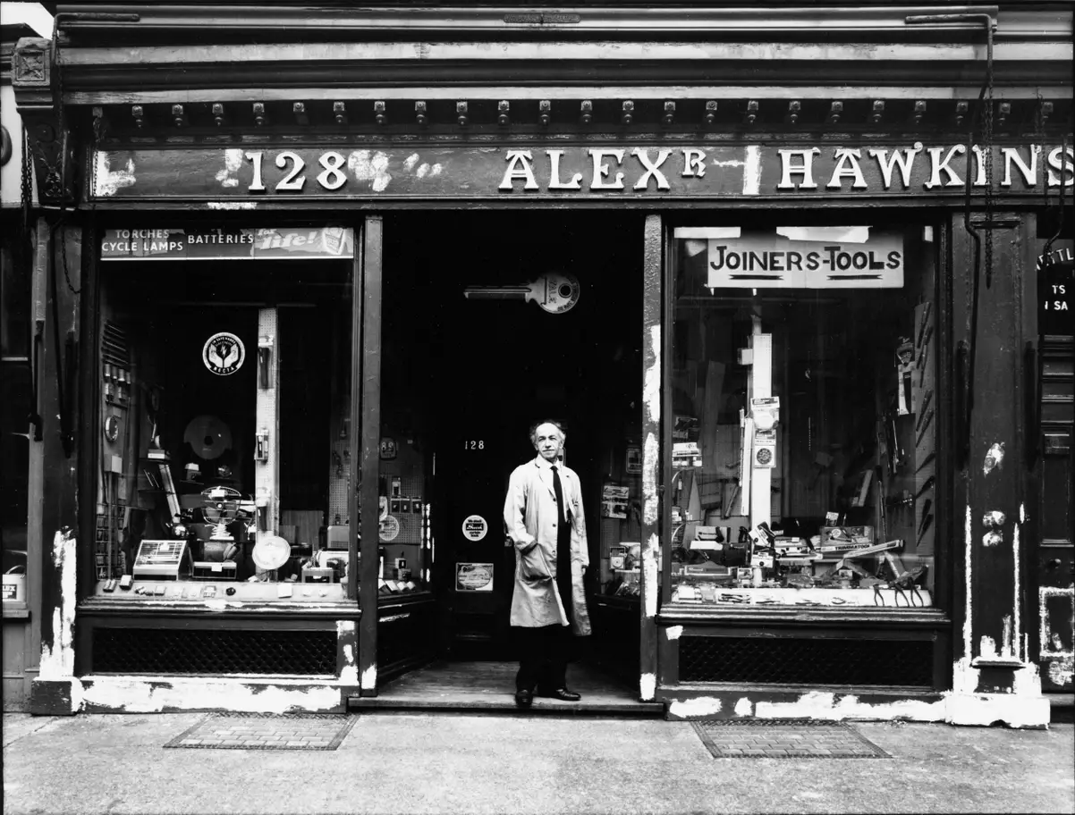 London Road, 1975 Alexander Hawkins, Ironmonger. Not On.png