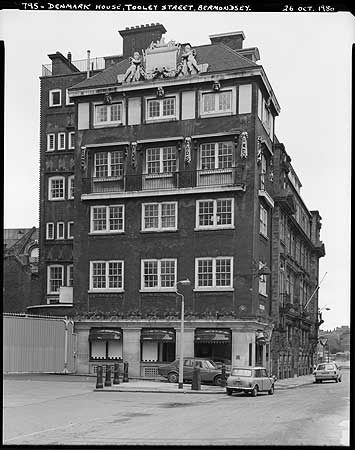 Denmark House, Tooley Street, Southwark,part of The London Bridge Hospital.  X.png