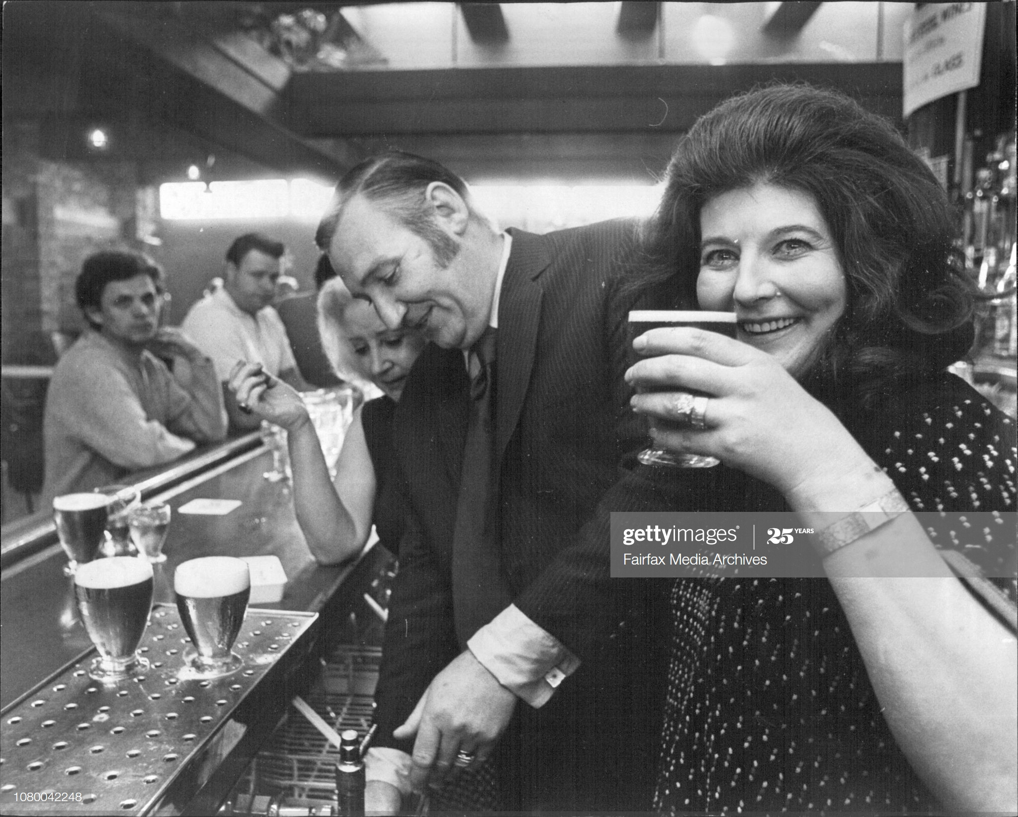 "Pages Walk 1972, Publicans of the ""Victoria"" Pages Walk, John & June Sherriff in the Carlton Rex Hotel, Sydney.  X.png"