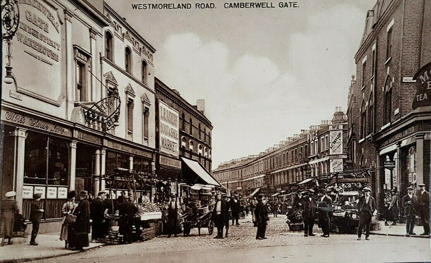 WESTMORELAND ROAD,RED LION PUB LEFT.MOORES BROS TEA ROOMS ON THE RIGHT.     X (2).png