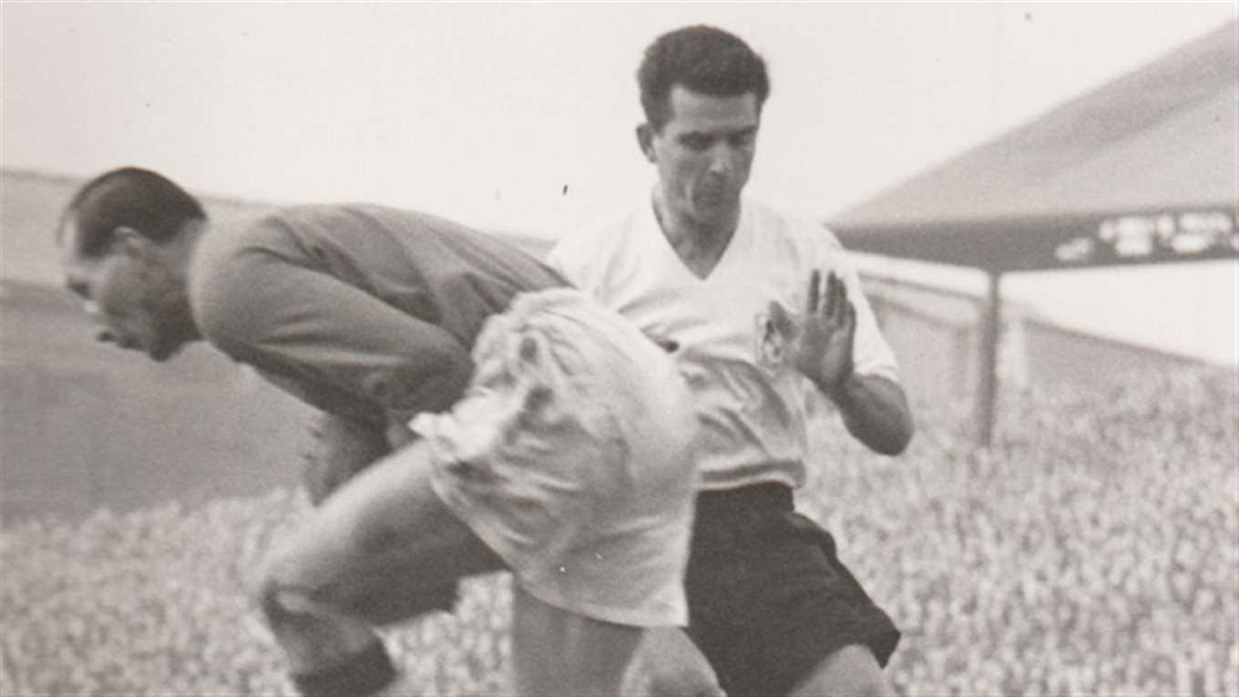 Millwall Football Club, Stan Anslow 1950s. Sadly Stan passed away in 2017 aged 86.  X.png