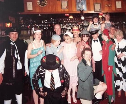 Bermondsey Wall East, a Fancy Dress Party at The Old Justice Pub, 1980-1981 Period.   X.png